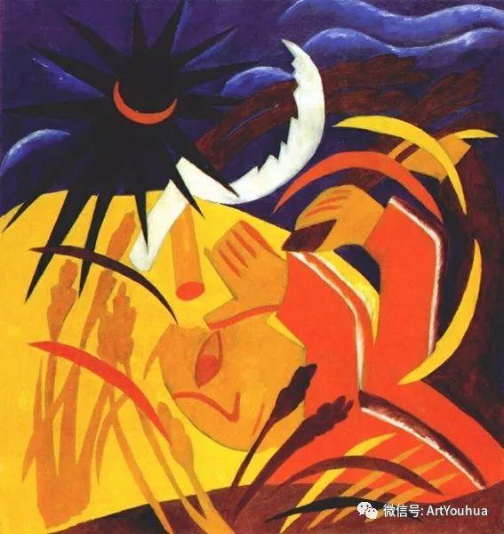 俄罗斯前卫艺术家Natalia Goncharova (1881-1962)插图35