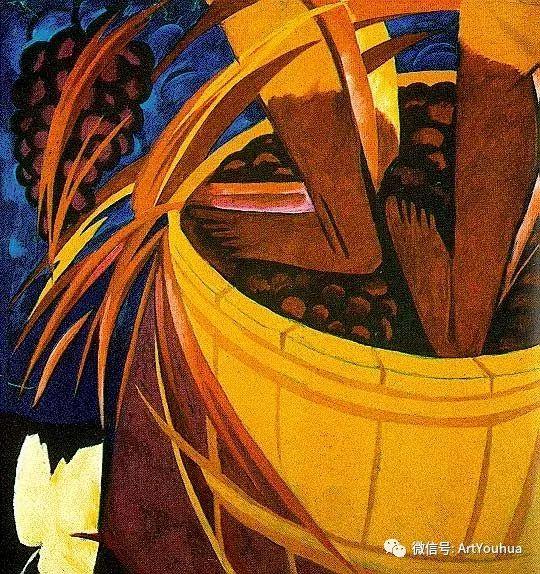 俄罗斯前卫艺术家Natalia Goncharova (1881-1962)插图41