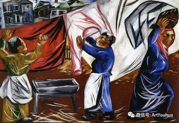 俄罗斯前卫艺术家Natalia Goncharova (1881-1962)插图43