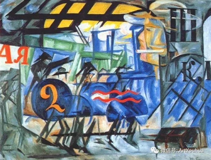 俄罗斯前卫艺术家Natalia Goncharova (1881-1962)插图45