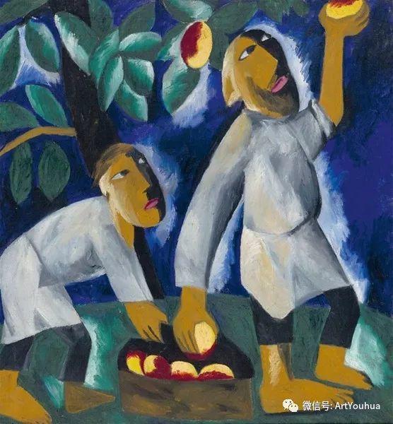 俄罗斯前卫艺术家Natalia Goncharova (1881-1962)插图47