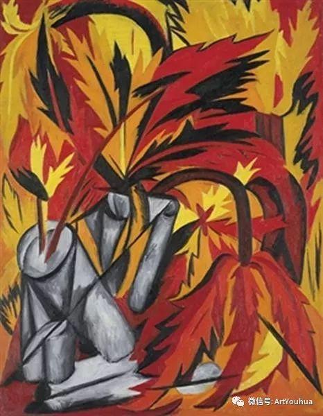 俄罗斯前卫艺术家Natalia Goncharova (1881-1962)插图49