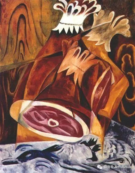 俄罗斯前卫艺术家Natalia Goncharova (1881-1962)插图51