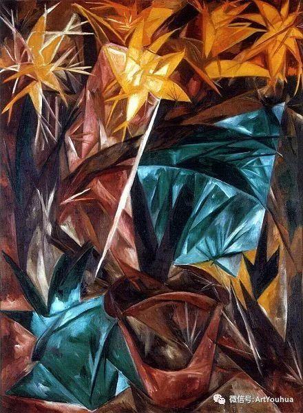 俄罗斯前卫艺术家Natalia Goncharova (1881-1962)插图53