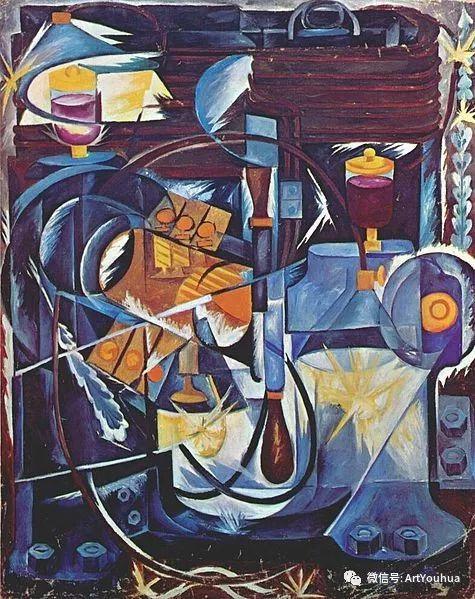 俄罗斯前卫艺术家Natalia Goncharova (1881-1962)插图57