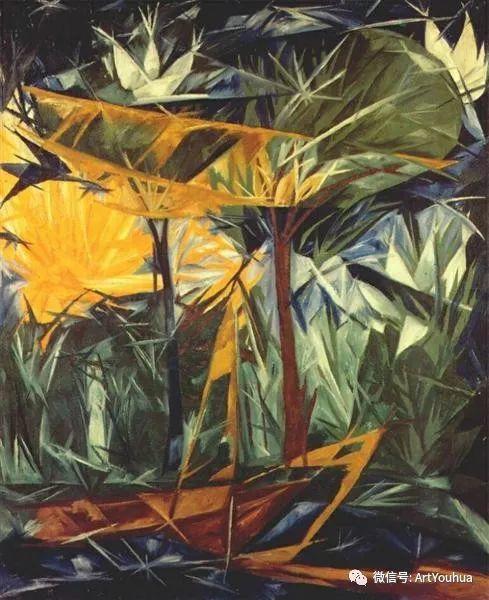 俄罗斯前卫艺术家Natalia Goncharova (1881-1962)插图61