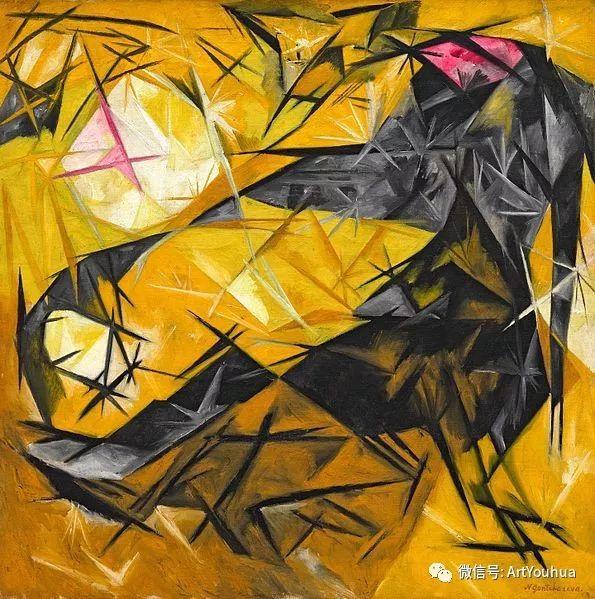 俄罗斯前卫艺术家Natalia Goncharova (1881-1962)插图65