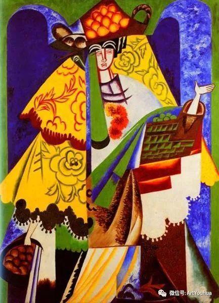 俄罗斯前卫艺术家Natalia Goncharova (1881-1962)插图71