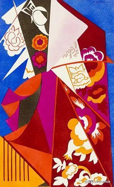 俄罗斯前卫艺术家Natalia Goncharova (1881-1962)插图73