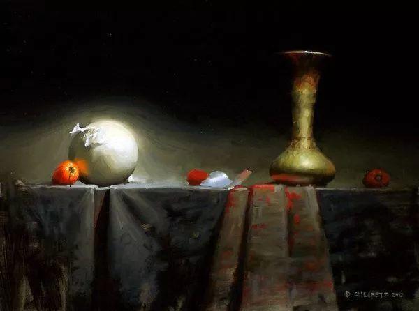 他是一个十分讲究运用光线的画家插图15
