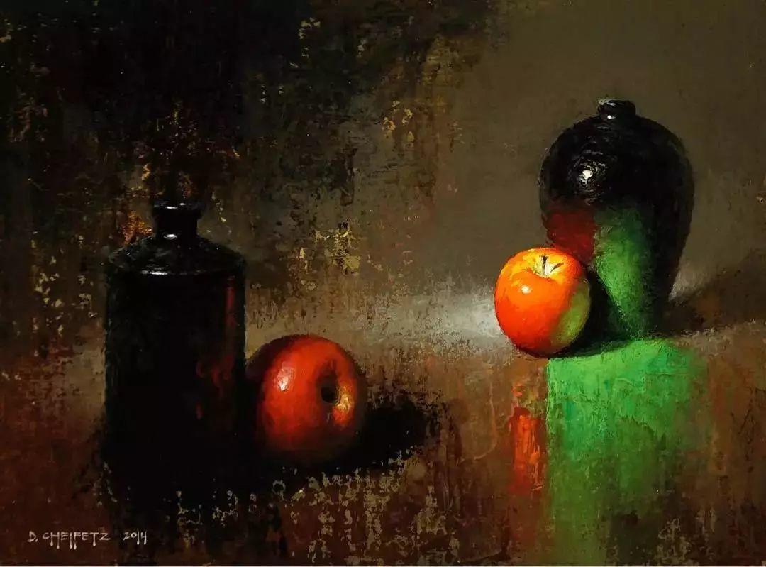 他是一个十分讲究运用光线的画家插图25