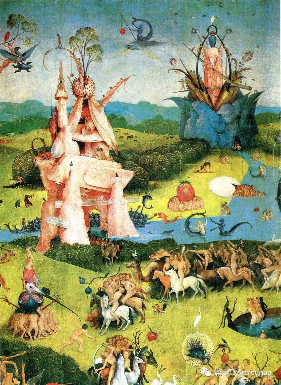 连载No.3 一生要知道的100位世界著名画家之希罗尼穆斯·波希插图58