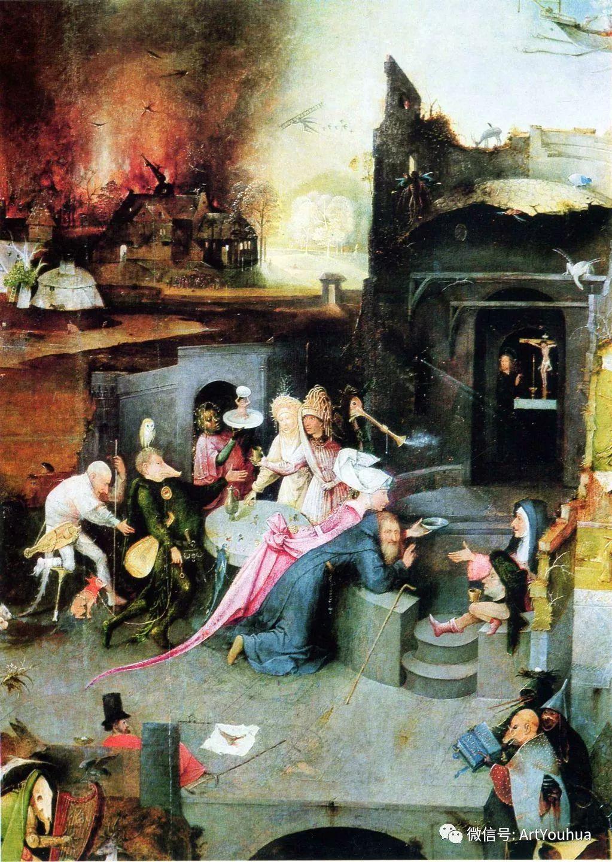 连载No.3 一生要知道的100位世界著名画家之希罗尼穆斯·波希插图84