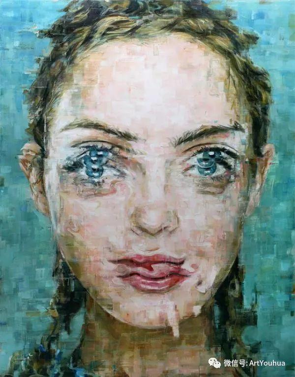 别样的人物肖像 巴西画家Harding Meyer插图3