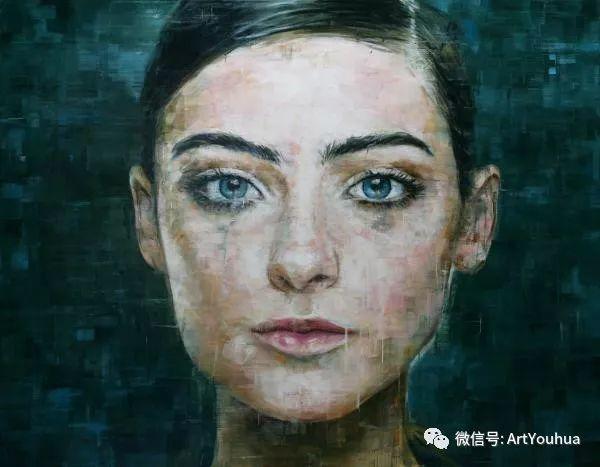 别样的人物肖像 巴西画家Harding Meyer插图7