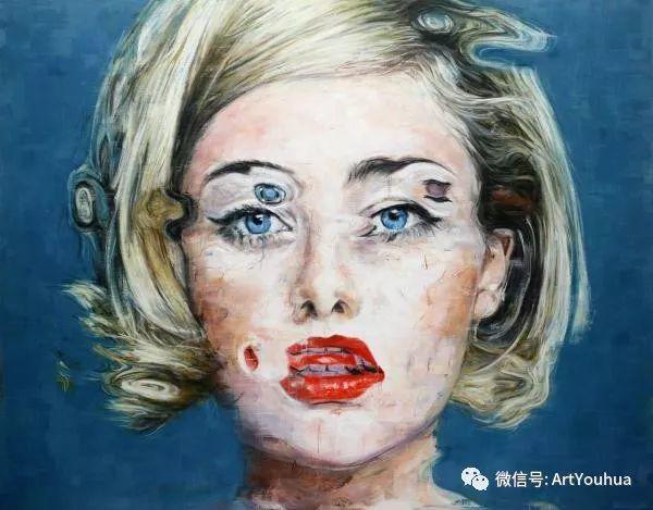 别样的人物肖像 巴西画家Harding Meyer插图13