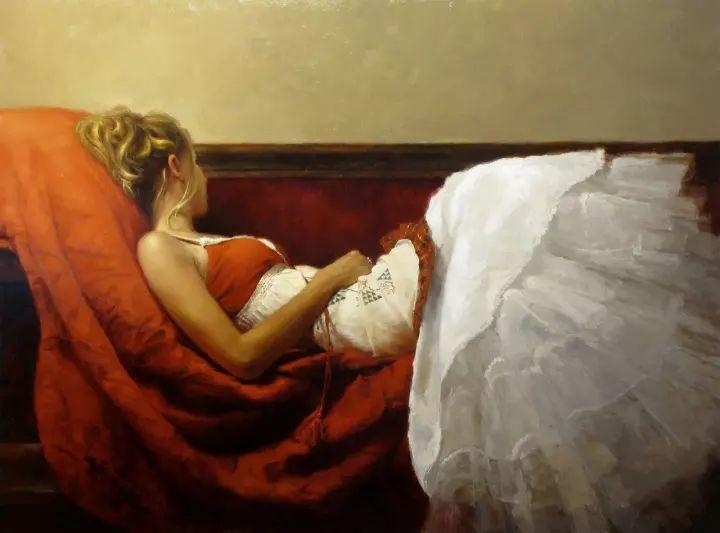 潇洒的笔触 性感的人体   美国当代画家Jeremy Mann插图3