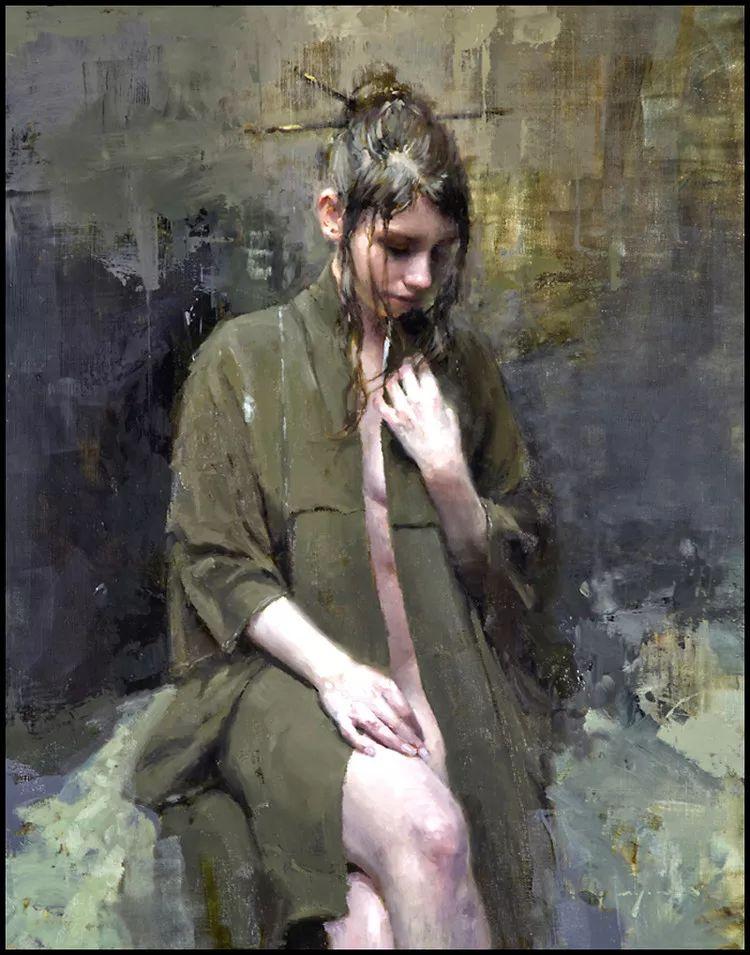 潇洒的笔触 性感的人体   美国当代画家Jeremy Mann插图5