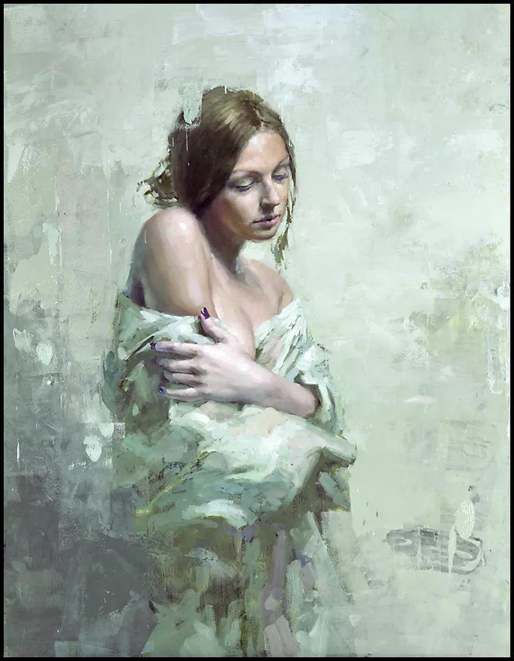 潇洒的笔触 性感的人体   美国当代画家Jeremy Mann插图15