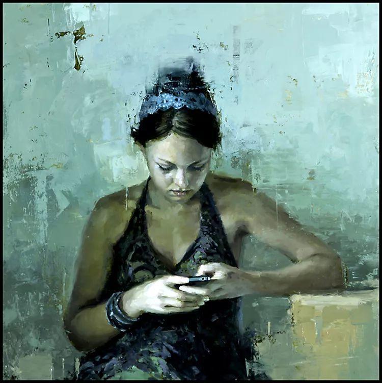 潇洒的笔触 性感的人体   美国当代画家Jeremy Mann插图21