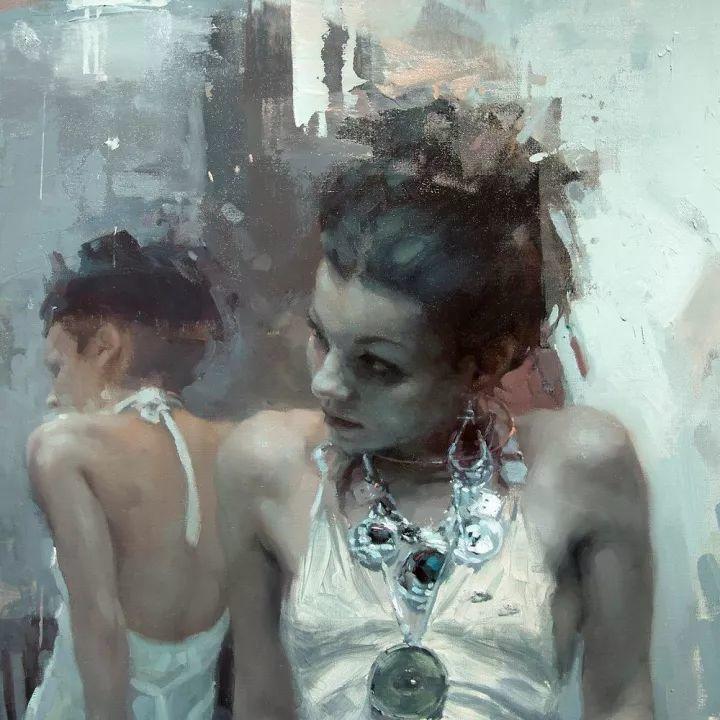 潇洒的笔触 性感的人体   美国当代画家Jeremy Mann插图25