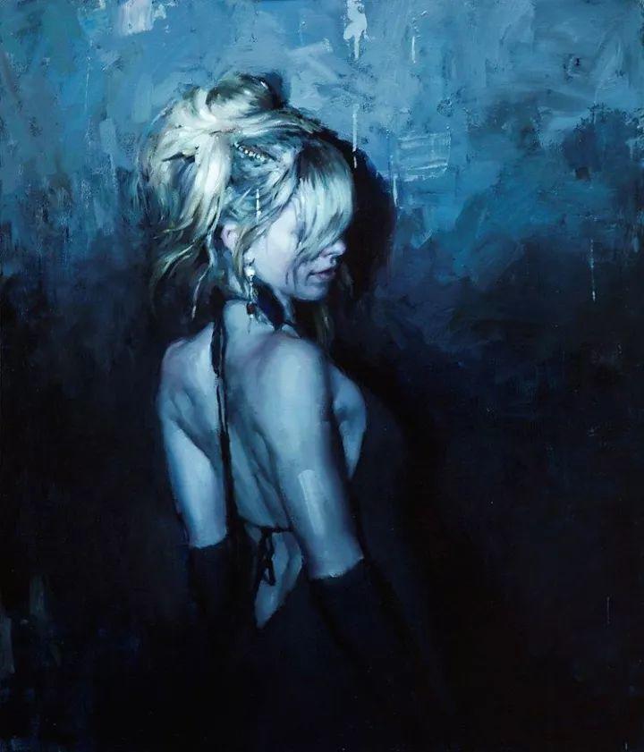 潇洒的笔触 性感的人体   美国当代画家Jeremy Mann插图45