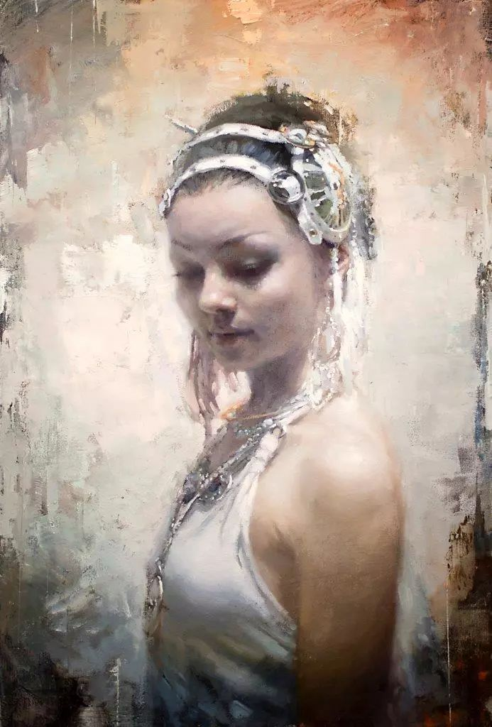 潇洒的笔触 性感的人体   美国当代画家Jeremy Mann插图49