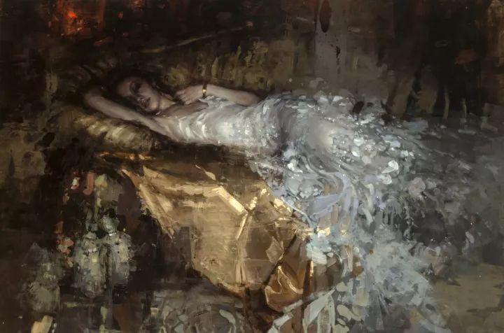 潇洒的笔触 性感的人体   美国当代画家Jeremy Mann插图51