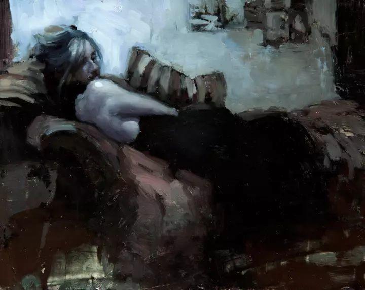 潇洒的笔触 性感的人体   美国当代画家Jeremy Mann插图57