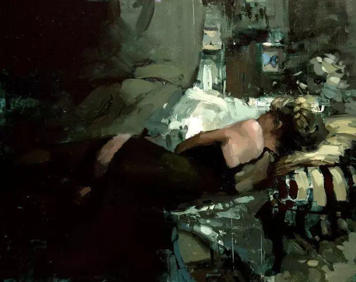 潇洒的笔触 性感的人体   美国当代画家Jeremy Mann插图63