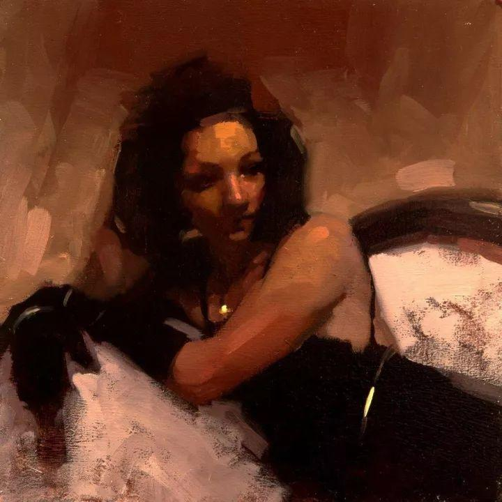 潇洒的笔触 性感的人体   美国当代画家Jeremy Mann插图65