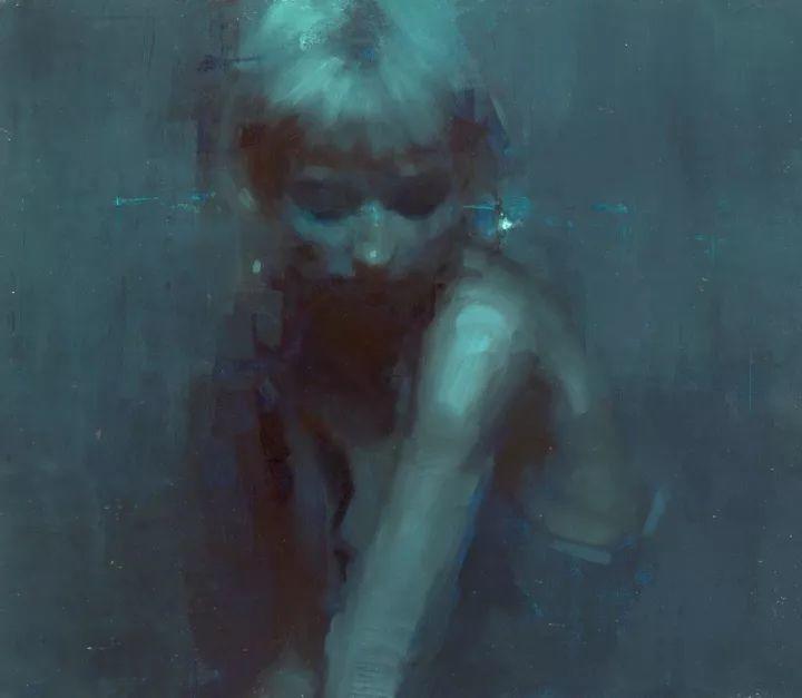 潇洒的笔触 性感的人体   美国当代画家Jeremy Mann插图71