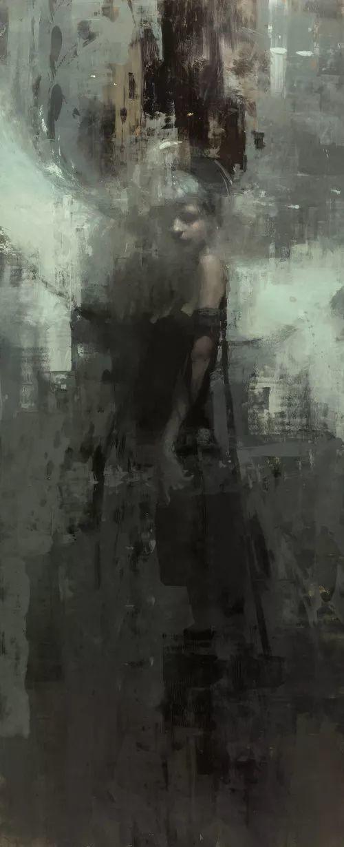 潇洒的笔触 性感的人体   美国当代画家Jeremy Mann插图85