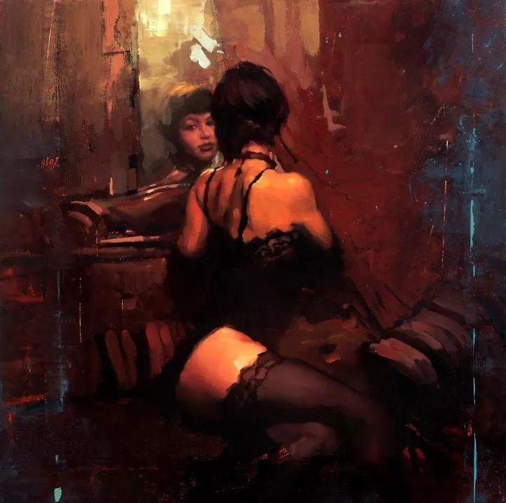潇洒的笔触 性感的人体   美国当代画家Jeremy Mann插图91