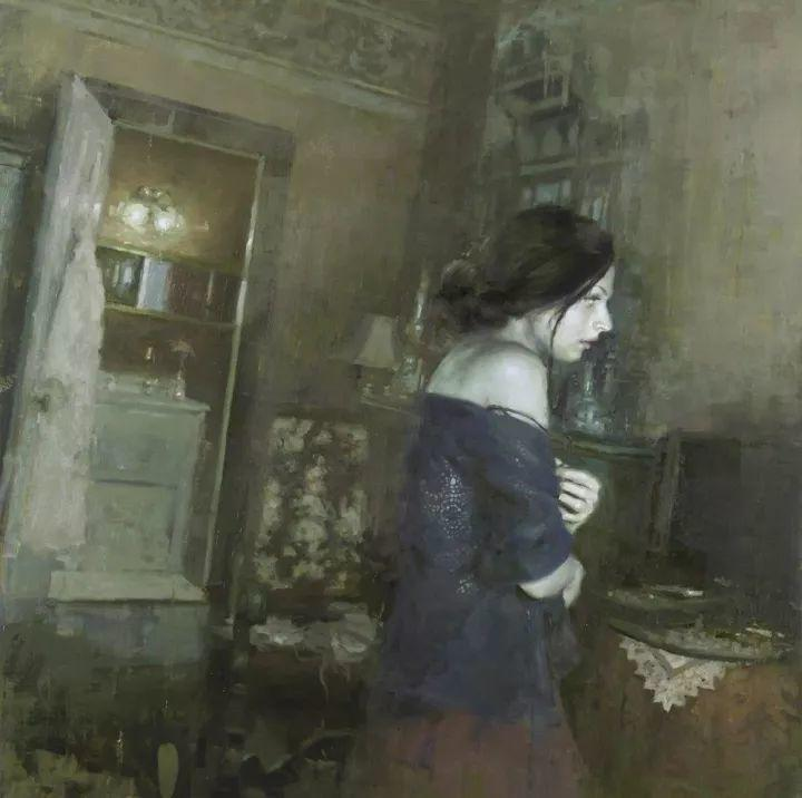 潇洒的笔触 性感的人体   美国当代画家Jeremy Mann插图97