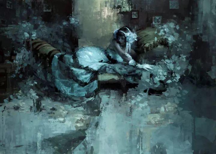 潇洒的笔触 性感的人体   美国当代画家Jeremy Mann插图99