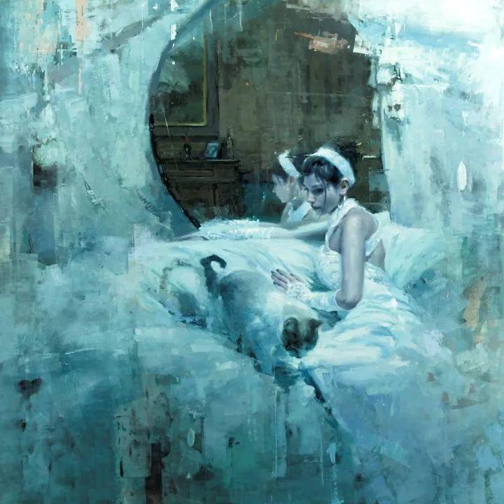 潇洒的笔触 性感的人体   美国当代画家Jeremy Mann插图107