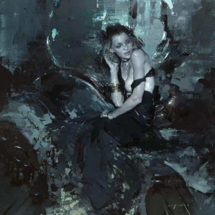 潇洒的笔触 性感的人体   美国当代画家Jeremy Mann插图111