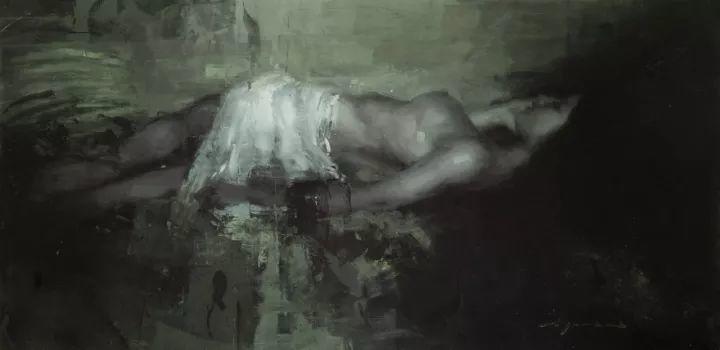 潇洒的笔触 性感的人体   美国当代画家Jeremy Mann插图119