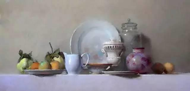 西班牙画家Felipe Santamans色粉作品欣赏插图5