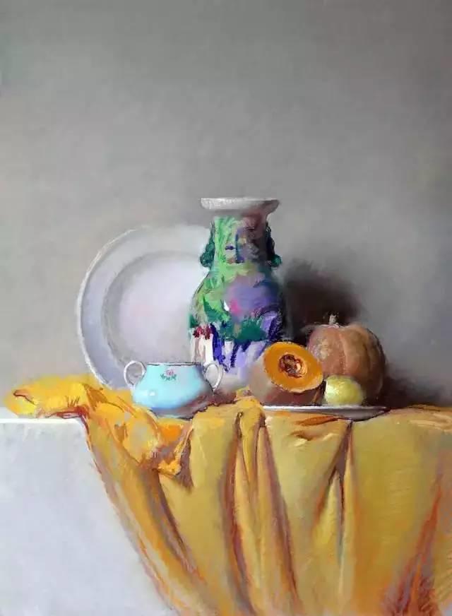 西班牙画家Felipe Santamans色粉作品欣赏插图7