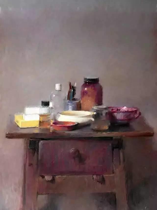 西班牙画家Felipe Santamans色粉作品欣赏插图9