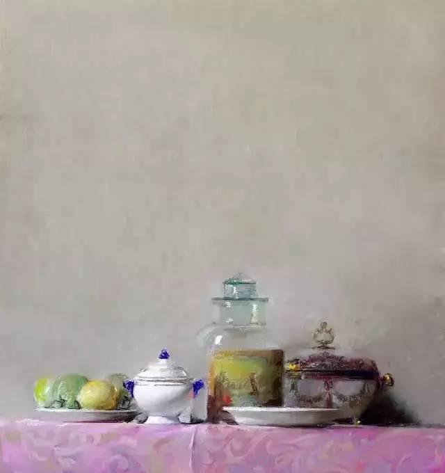 西班牙画家Felipe Santamans色粉作品欣赏插图19