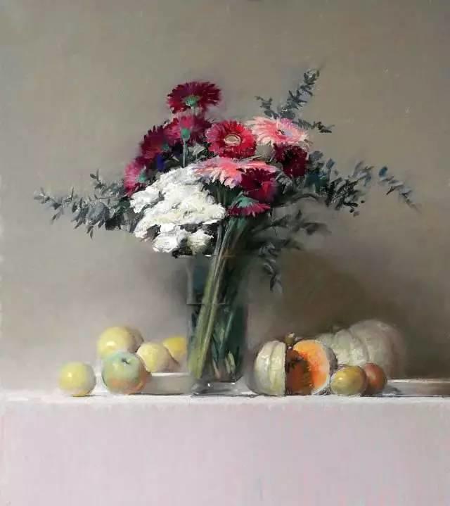 西班牙画家Felipe Santamans色粉作品欣赏插图21