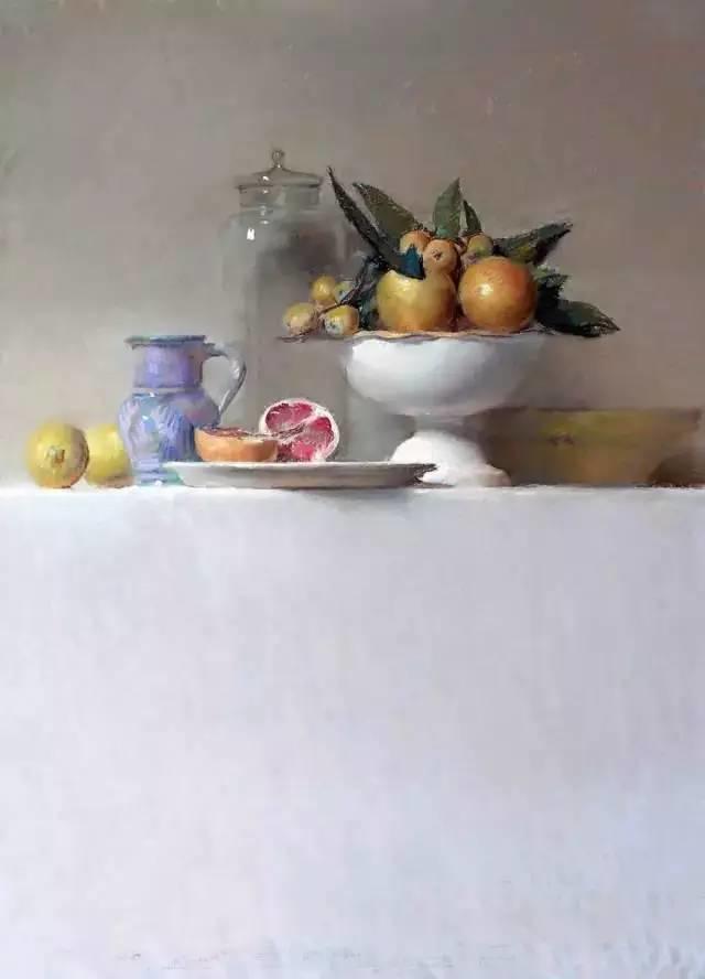 西班牙画家Felipe Santamans色粉作品欣赏插图23
