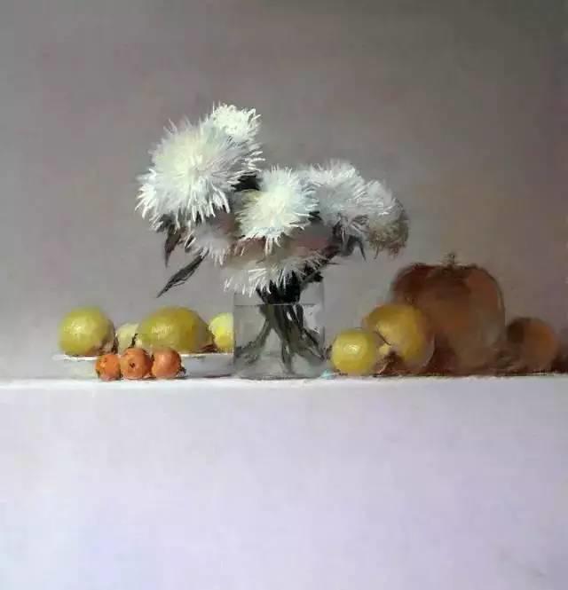 西班牙画家Felipe Santamans色粉作品欣赏插图25