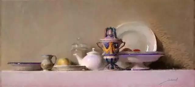 西班牙画家Felipe Santamans色粉作品欣赏插图31