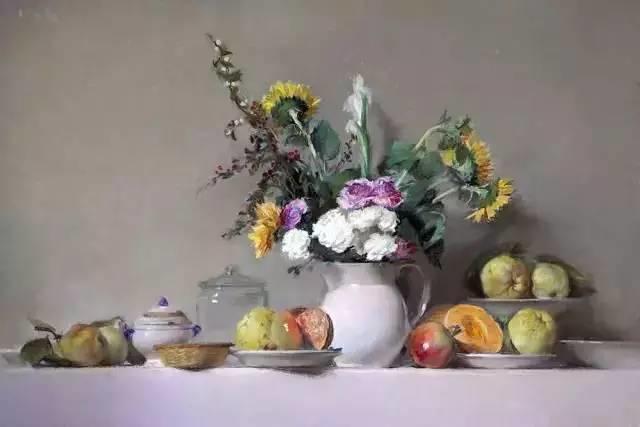西班牙画家Felipe Santamans色粉作品欣赏插图33
