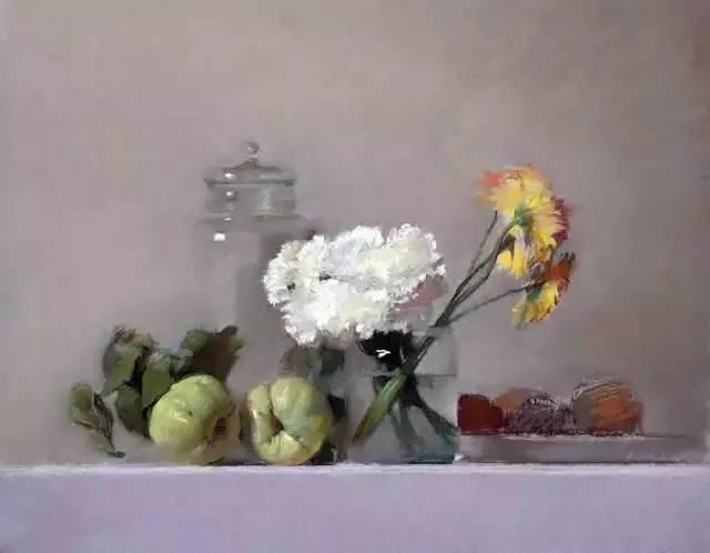 西班牙画家Felipe Santamans色粉作品欣赏插图35