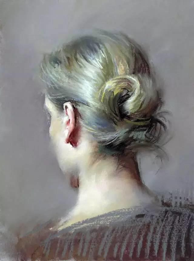 西班牙画家Felipe Santamans色粉作品欣赏插图37